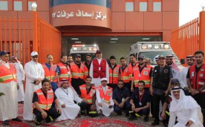 الهلال الأحمر: 33 مركزا و96 سيارة و352 مسعفًا لخدمة الحجاج بعرفات