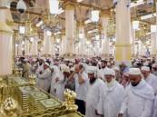 جموع المصلين يؤدون صلاة العيد في الحرمين الشريفين ومختلف مساجد المملكة