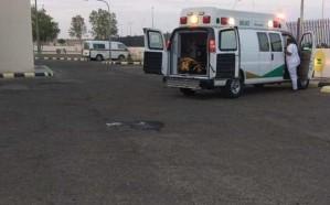 """إصابة 8 أشخاص في انقلاب حافلة ركاب في طريق """"الطائف – الرياض"""""""