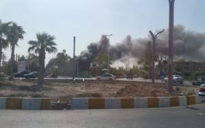 اندلاع حريق هائل في أكبر محطة تكرير بإيران