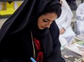 توقيع ديوان لبست عطرك للشاعرة الإماراتية حمدة المر المهيري