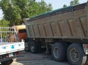 مكة.. إصابة 18 شخصاً إثر حادث تصادم على طريق عرفة