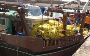 إحباط تهريب 100 طن متفجرات قبل وصولها للحوثيين في اليمن