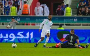 الأخضر يخسر نقاط الكويت في خليجي 24