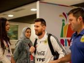 شاهد:  ميسي يصل الرياض.. وتركي آل الشيخ يعلق