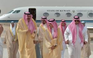 وزير الخارجية الكويتي يصل الرياض