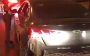 فيديو.. القبض على متهورين في القيادة وطامسي اللوحات بشوارع الرياض