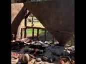 فيديو.. أول تحرك من أمانة نجران بعد انهيار مظلة على عائلة في منتزه الملك فهد