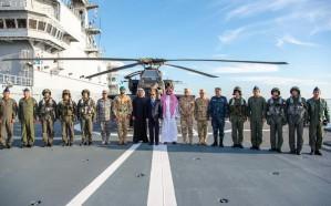 خالد بن سلمان يرأس وفد المملكة في افتتاح قاعدة برنيس العسكرية بمصر