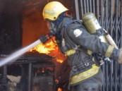 اندلاع حريق في مجمع لبيع الأدوات الكهربائية بحي العزيزية