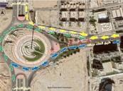 إغلاق المسار الرئيس لطريق الملك عبدالله عند تقاطع الأندلس باتجاه الغرب خلال هذه المدة