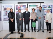 سفير خادم الحرمين الشريفين لدى المملكة المتحدة يستقبل وفد مركز الملك سلمان للإغاثة