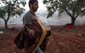 سوريا.. 7 قتلى من عائلة واحدة في غارات للنظام وروسيا