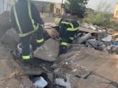 بعد تسرب للغاز.. انهيار منزل شعبي على امرأة مسنة بمحايل عسير