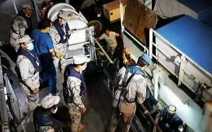 حرس الحدود يخلي بحارًا هنديًا فقد وعيه على متن سفينة في البحر الأحمر