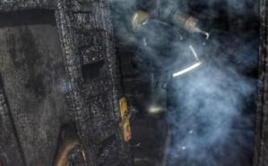 إصابة امرأتين في حريق شقة بحي قويزة بجدة