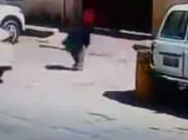 شاهد.. هروب خادمة بـ الليموزين في الرياض