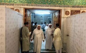 """إجراء الفحص الطبي """"احترازياً"""" على جميع العاملين بالمسجد النبوي"""