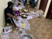 مصادرة 195 كجم من السمبوسة في خميس مشيط