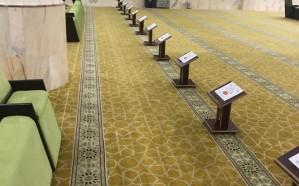 توزيع منشورات وقائية من كورونا على المصلين في حداد بني مالك
