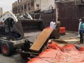 أول تحرك من أمانة جدة على ظهور تجمعات في سوق عشوائي بباب مكة