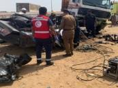 مصرع شخصين في حادث مروع بجازان