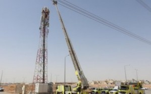 احتجاز شخص في برج للاتصال بحي الرمال.. ومدني الرياض يتدخل