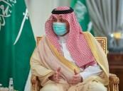 أمير الحدود الشمالية يستقبل مدير فرع الشؤون الإسلامية بالمنطقة