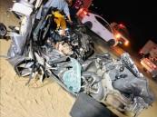 وفاة وإصابة 7 أشخاص في حادث مروع بعسير