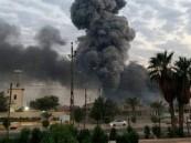 فيديو.. اندلاع حريق هائل في منطقة صناعية بكرمنشاه الإيرانية