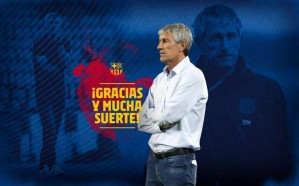 رسمياً : برشلونة يُقيل مدربه كيكي سيتين