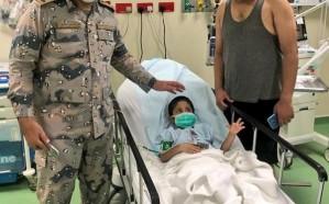 """""""حرس الحدود"""" ينقذ طفلاً هندياً ومقيماً يمنياً من الغرق في الجبيل"""