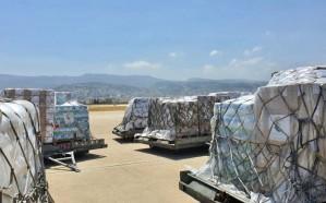 وصول الطائرة الإغاثية الثالثة التي سيّرها مركز الملك سلمان للإغاثة إلى لبنان