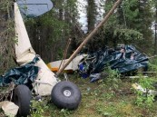 فيديو.. مصرع سبعة أشخاص إثر تصادم طائرتين في ألاسكا
