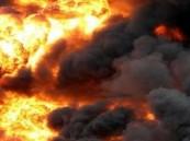 انفجار داخل مصنع بإيران يخلف قتلى وجرحى