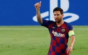 رسمياً.. ليونيل ميسي سيبقى في برشلونة