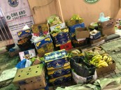 مصادر وإتلاف أكثر من طن من المواد الغذائية الفاسدة بخميس مشيط