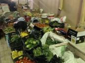 إتلاف أكثر من 3 أطنان مواد غذائية فاسدة في خميس مشيط