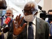 السجن أربع  سنوات لرئيس الاتحاد الدولي السابق لامين دياك