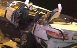 إصابة 4 أشخاص في حادث تصادم بطريق الكعكية بمكة