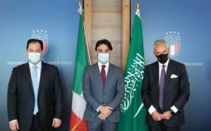 الفيصل يوقع مذكرة تفاهم مع الاتحاد الإيطالي