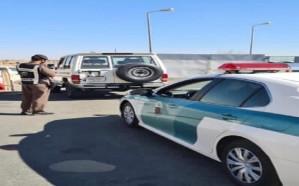 بالصور.. الإطاحة بقائد المركبة صاحب فيديو السرعة الجنونية في الطائف