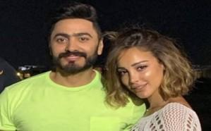 بسمة بوسيل ترد على منتقديها بعد ظهورها في حفل لزوجها تامر حسني