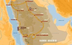الإعلان عن المسارات الجديد لرالي داكار في السعودية