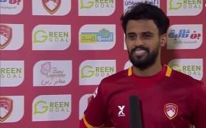 طارق عبدالله: نريد تحقيق نتيجة إيجابية لتحسين وضعنا