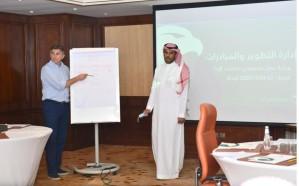 إدارة التطوير والمبادرات في اتحاد الكرة تعقد ورشة عمل في جدة