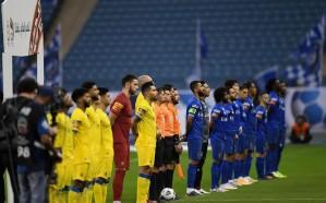 """""""الانضباط"""" تغرم لاعبين من النصر والهلال لعدم ارتداء الكمامة في مباراة الديربي"""
