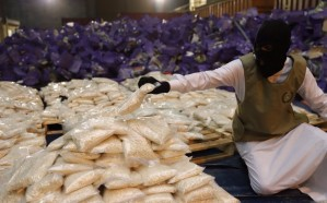 ضبط 20 مليون قرص مخدر في شحنة عنب