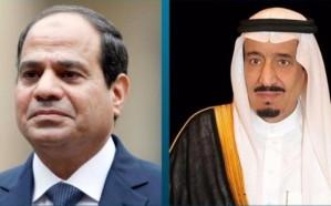 خادم الحرمين يبعث رسالة خطية لرئيس مصر