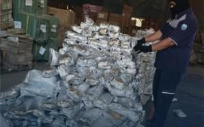 """""""الجمارك"""" تحبط تهريب أكثر من 15 مليون حبة """"كبتاجون"""" في ميناء جدة"""